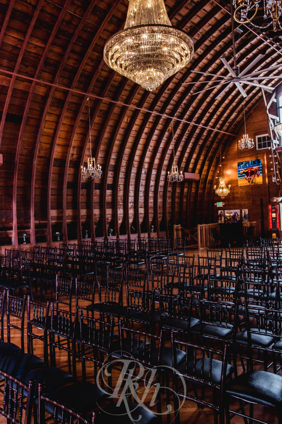 Green Acres Event Center ceremony space