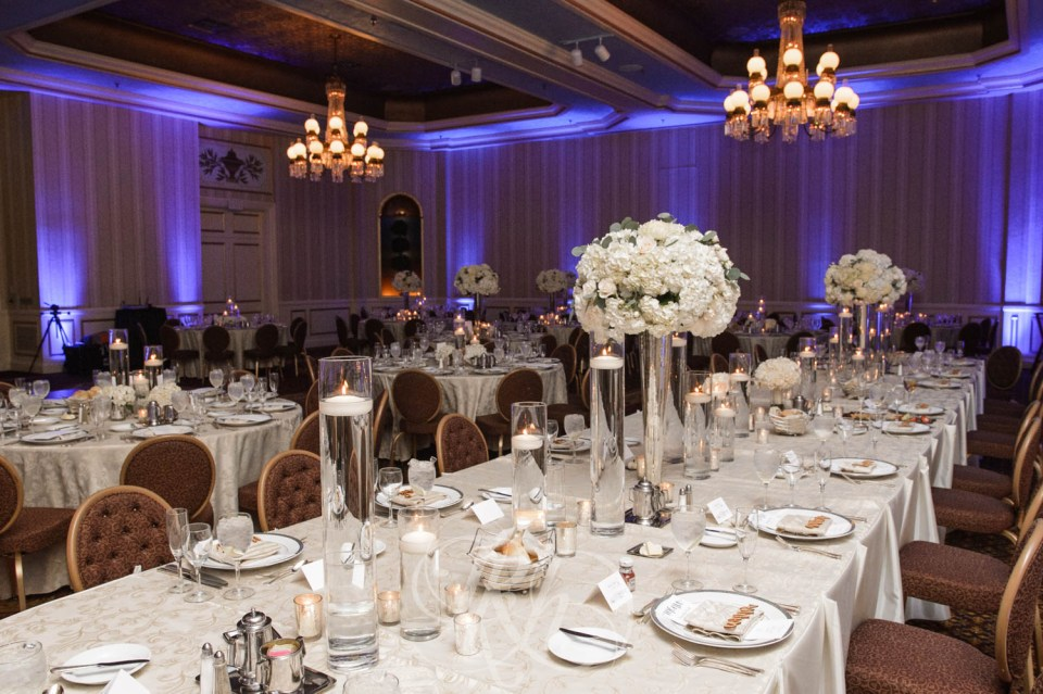 Saint Paul Hotel wedding reception