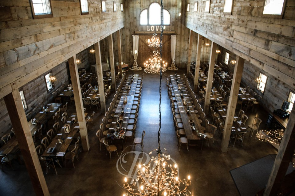 Creekside Farm and Events indoor wedding