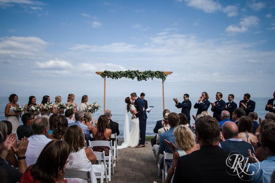 Bluefin Bay wedding ceremony