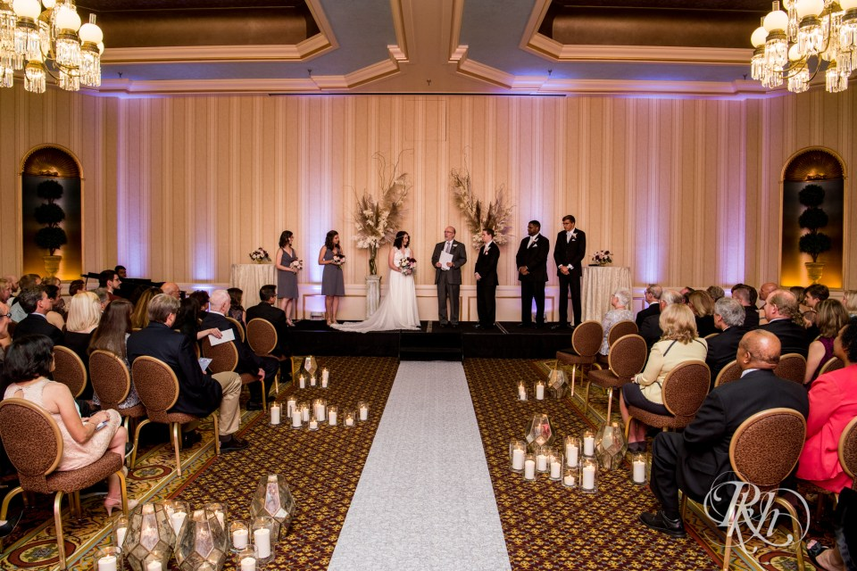 Saint Paul Hotel wedding ceremony