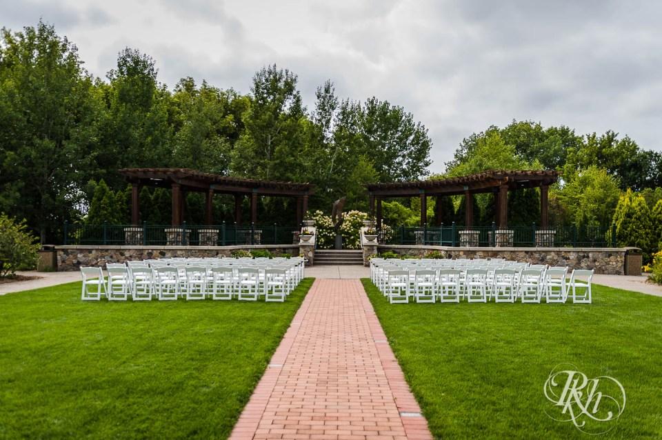Plymouth Creek Center Milennium Garden ceremony space