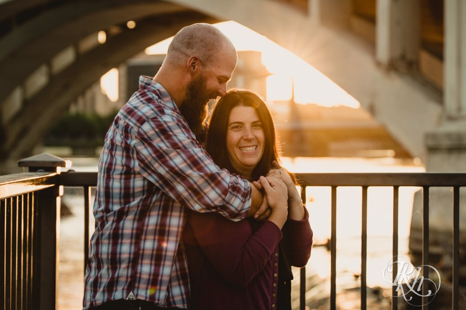 Sunset engagement photography