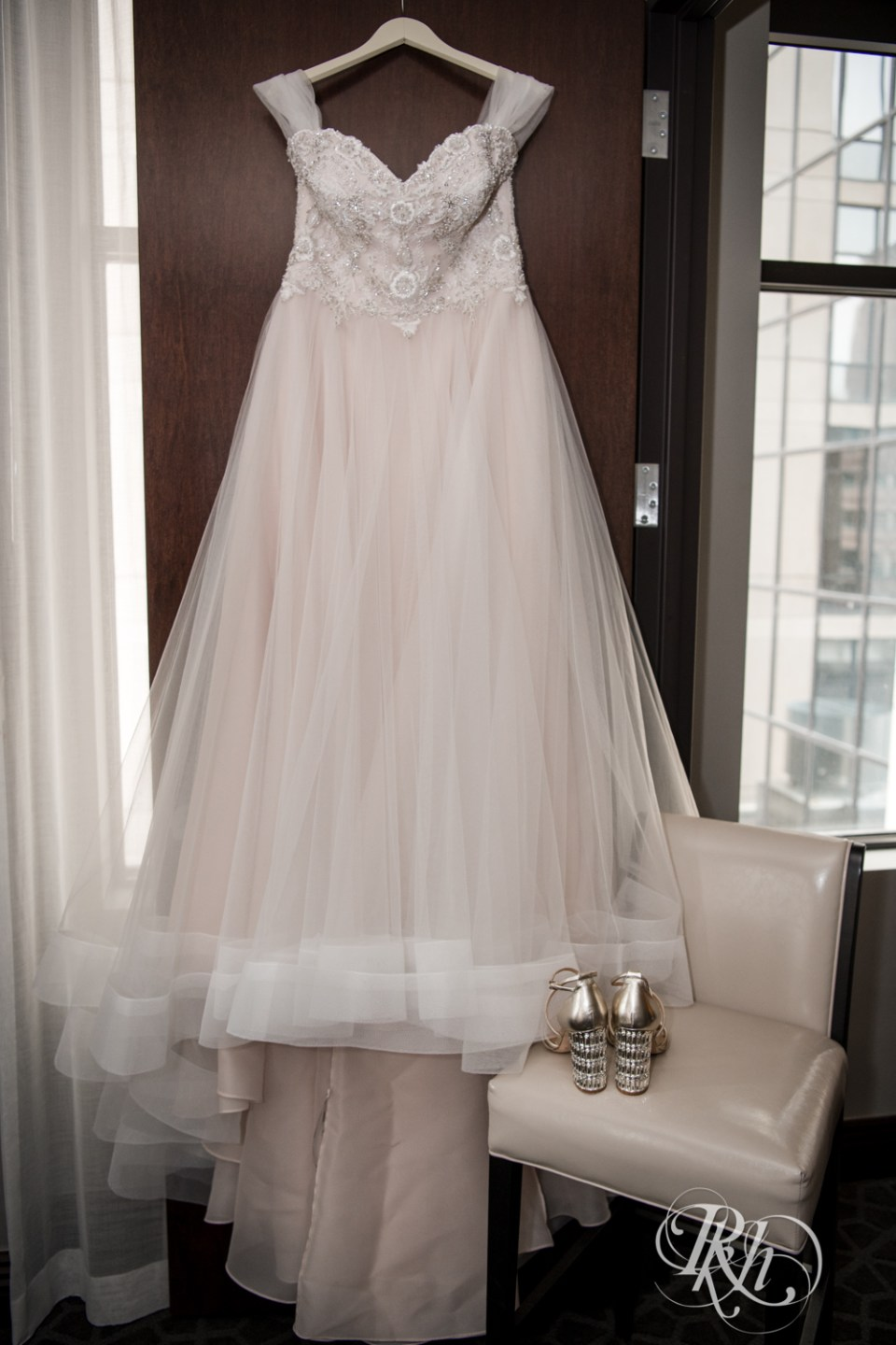 fairy tale dress and shoes