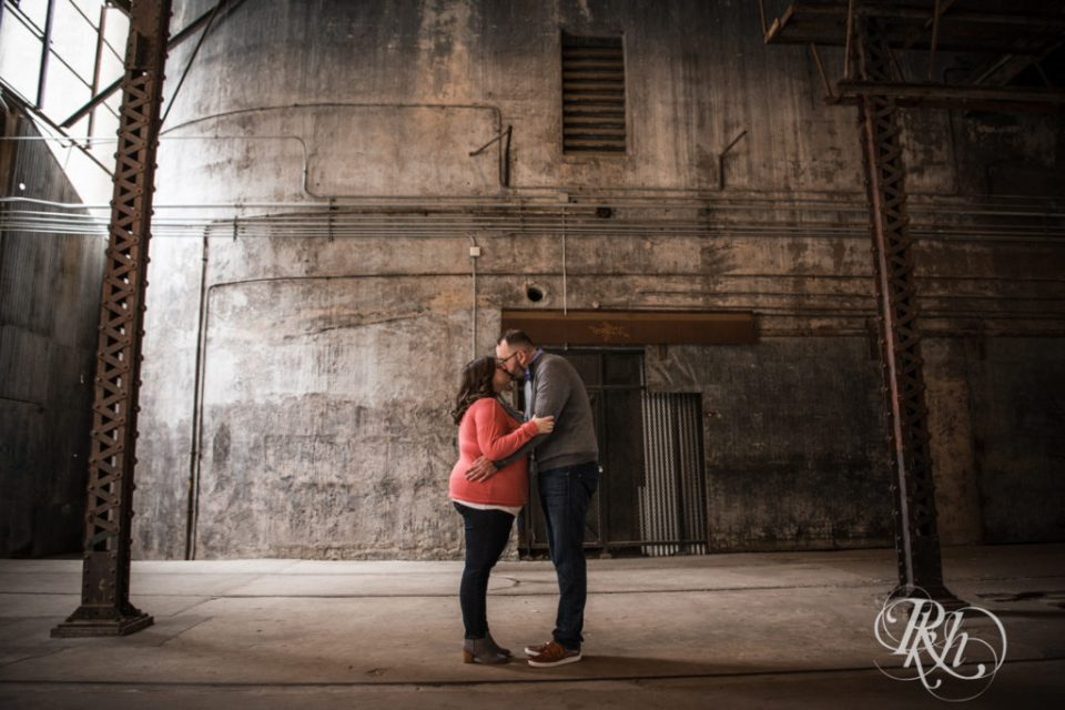 Mill City Ruins engagement photography