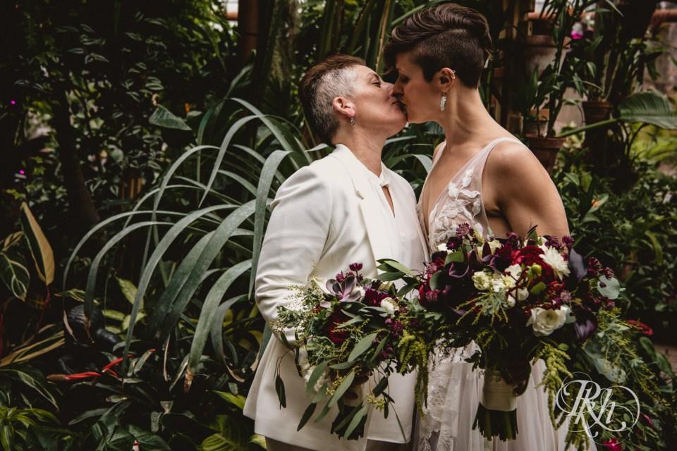 Minnesota Landscape Arboretum holiday wedding