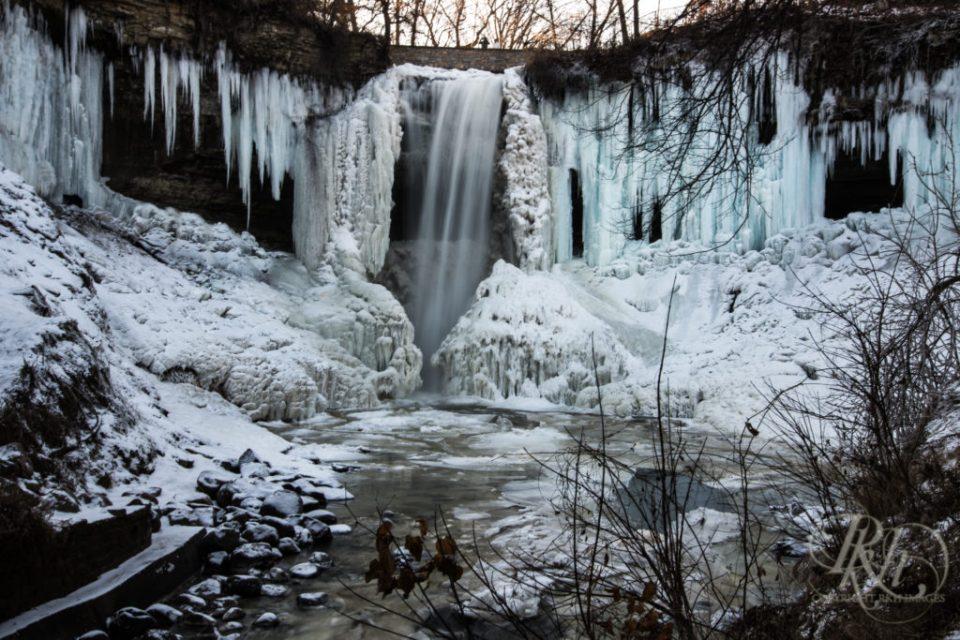Frozen Minnehaha Falls