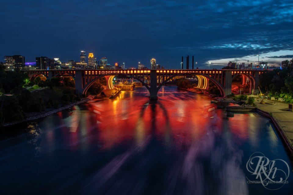Minneapolis Bridge during Pride