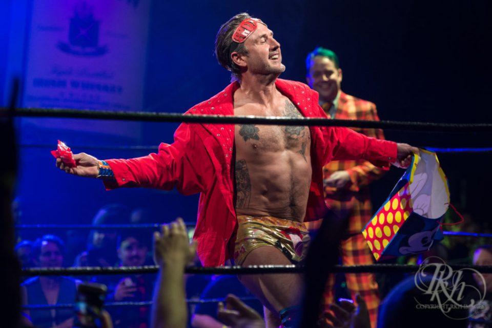David Arquette wrestling