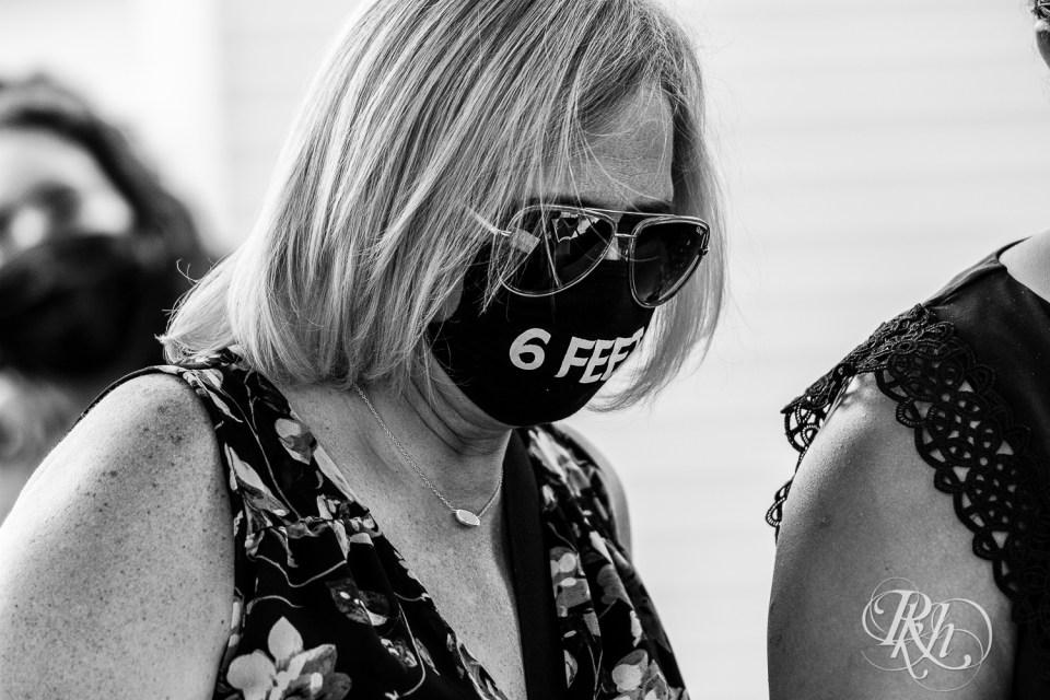Women wearing mask covid