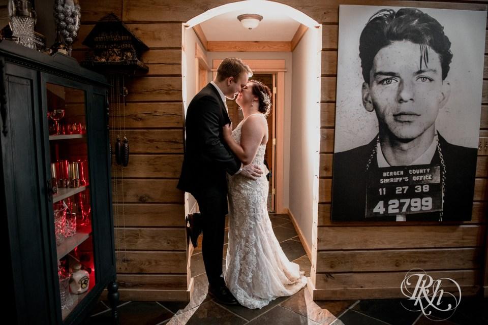 Cabin Wedding frank sinatra