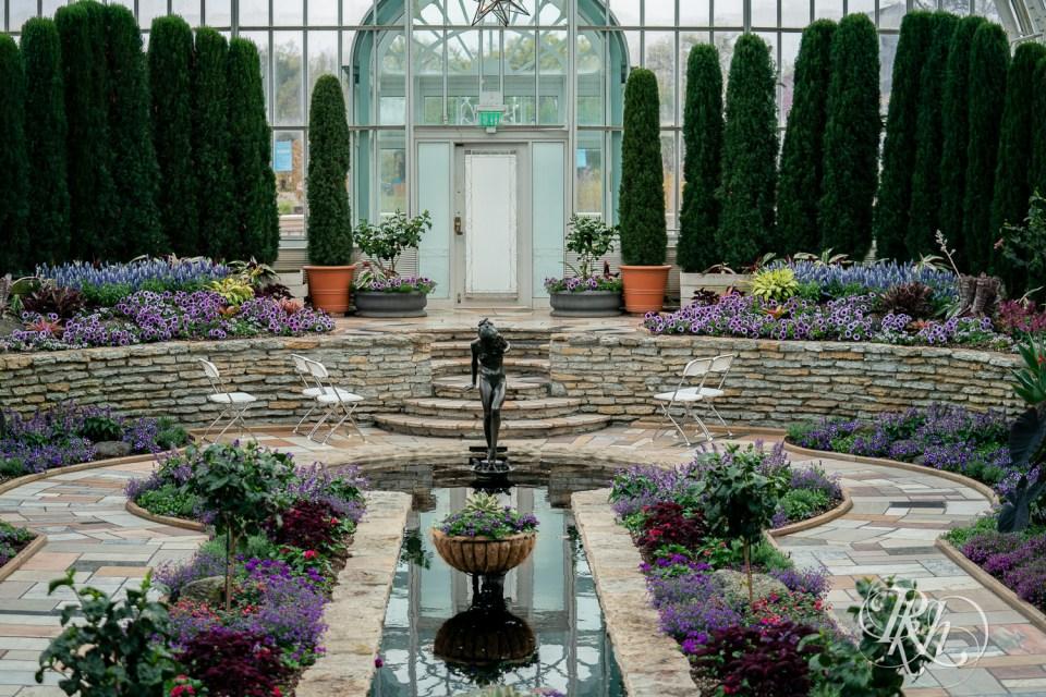 como zoo wedding sunken garden