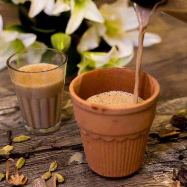 Hot Tea Indian Style