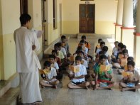 Energising them with elevating thoughts of Swami Vivekananda