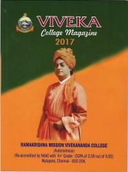 Viveka college Magazine 2017