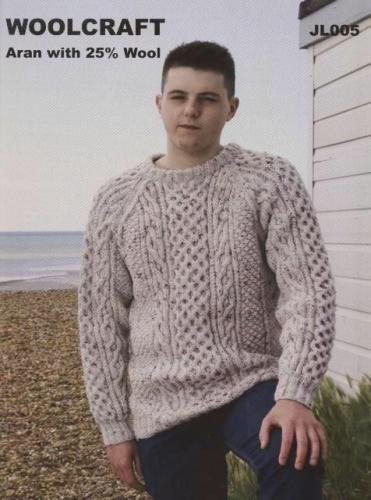 JL005 Aran Mens Sweater