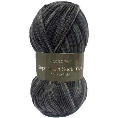 984 Paisley Yarn 100g Woolcraft Superwash Sock 4 ply Knitting Wool
