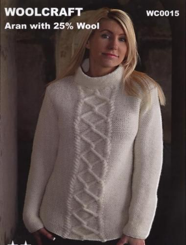 WC0015 Aran Womens Sweater