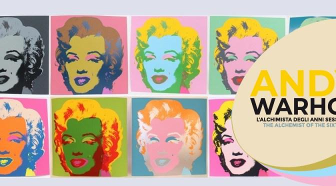 """Andy Warhol – L'Alchimista degli anni sessanta"" in mostra a Martina Franca dal 29.5 al 9.12.2019"