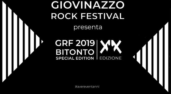 GRF 2019 – Bitonto Special Edition, XX edizione. Finalmente ci siamo! Il focus sul Contest