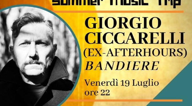 GIORGIO CICCARELLI in concerto venerdi 19 alla Cittadella delle Arti a Modugno