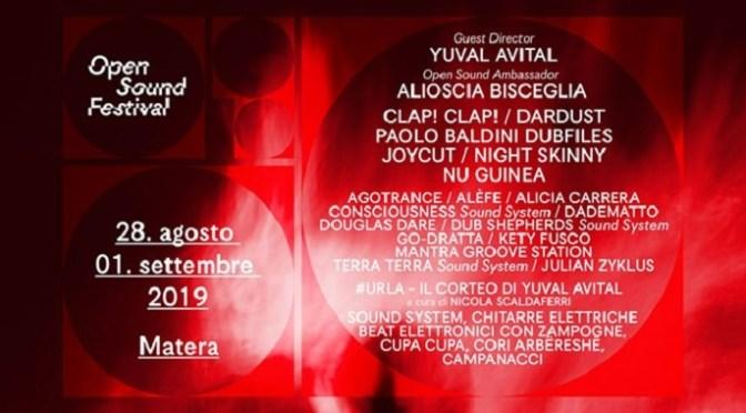 Open Sound Festival – Matera 2019