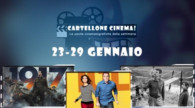 Cartellone Cinema – tutti i film nelle sale dal 23 al 29 gennaio