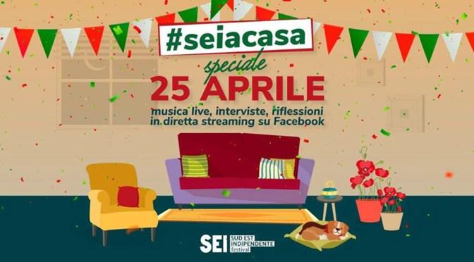 """Speciale Festa della Liberazione per """"Seiacasa"""" sulla pagina facebook di RKO e del Sud Est Indipendente"""