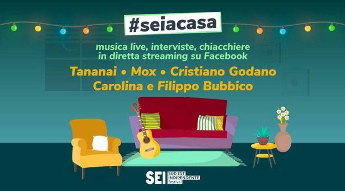 Cristiano Godano, Carolina e Filippo Bubbico, Tananai, Mox, Dalila Spagnolo per Seiacasa su Facebook Oggi alle 18:30