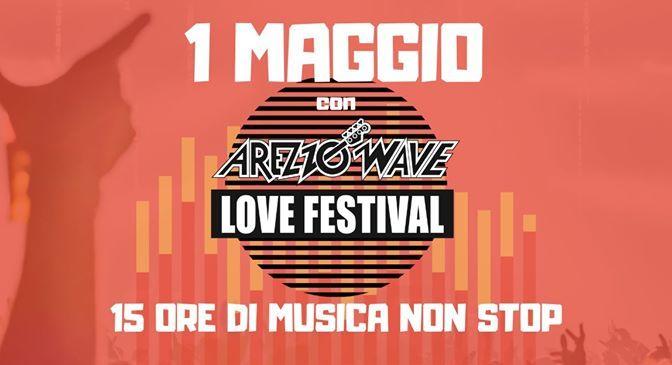 """Arezzo Wave #unomaggio2020: 15 ore di musica, Quattro palchi """"virtuali"""" con 134 artisti scelti tra gli oltre 1500 che si sono esibiti nella storica kermesse"""