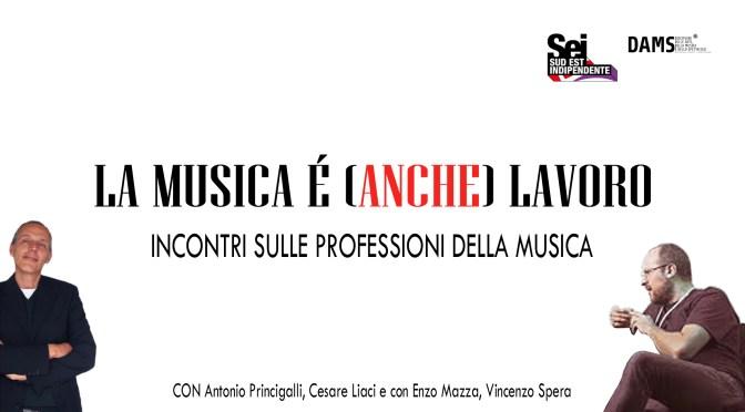 """""""La musica è (anche) lavoro"""" incontri web del DAMS dell'Università del Salento"""