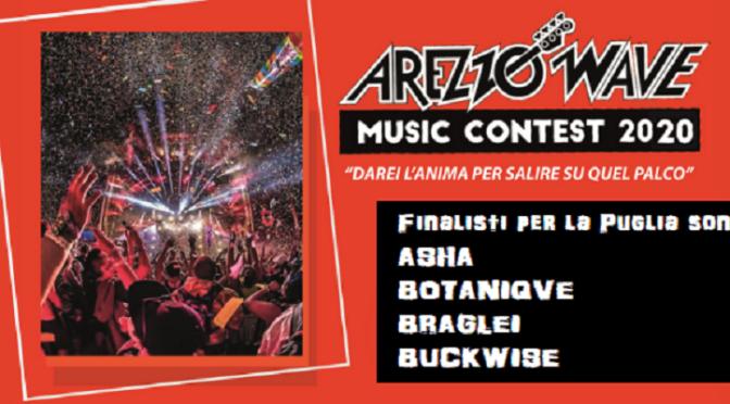 Ecco i 4 finalisti pugliesi per  il contest Arezzo Wave!