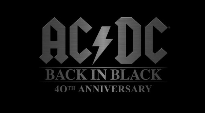 AC/DC – Back in Black 40° Anniversario