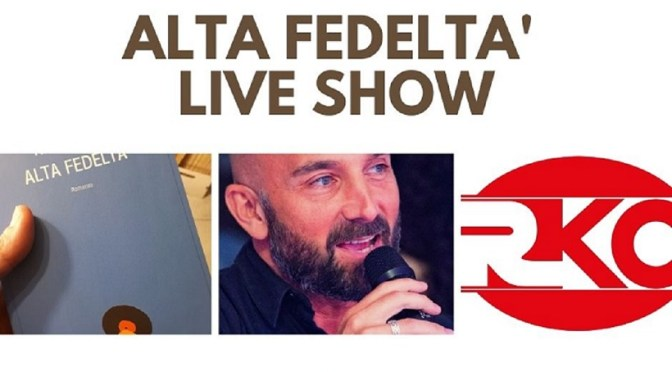 """ALTA FEDELTA' da programma radio diventa un """"Live Show"""" in giro per la città"""