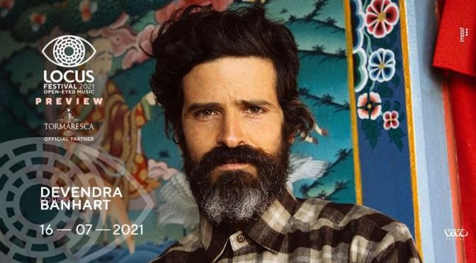 Locus festival annuncia una speciale preview estiva in piazza a Trani, il 16 luglio con DEVENDRA BANHART