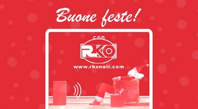 """RKO vi augura """"Buone Feste… in rosso"""""""