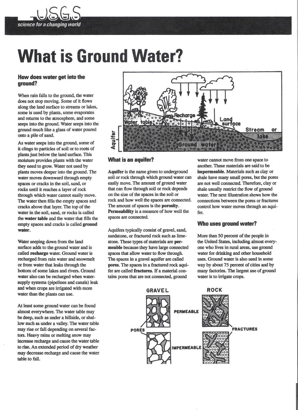 medium resolution of groundwater reading pages 1 and 2