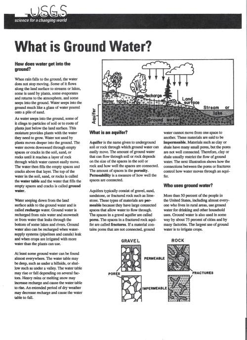 small resolution of groundwater reading pages 1 and 2