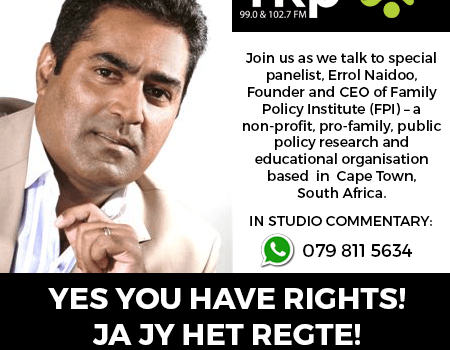 Errol Naidoo – Family Policy Institute