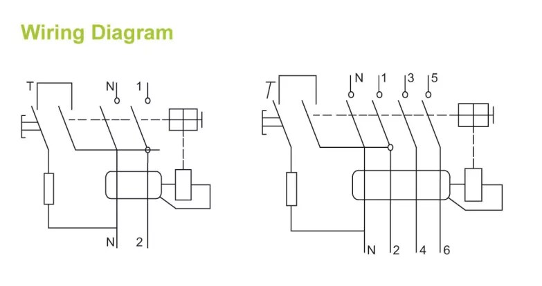 10kA new F360 type electronic 2 pole 30ma residual cruuent