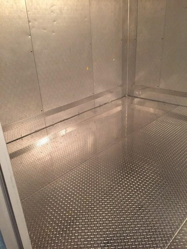 Aluminum Tread Plate Flooring & Bump Rail