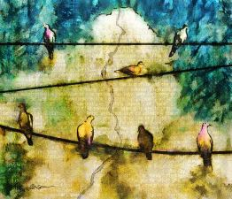 Birds on a Line (Requiem)