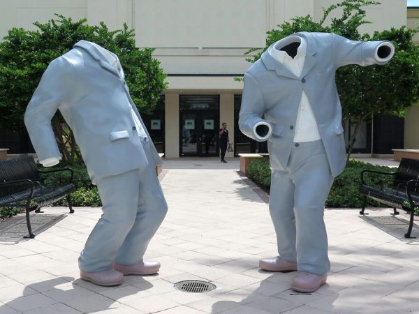 Contemporary Art Conservation Outdoor Painted Sculpture