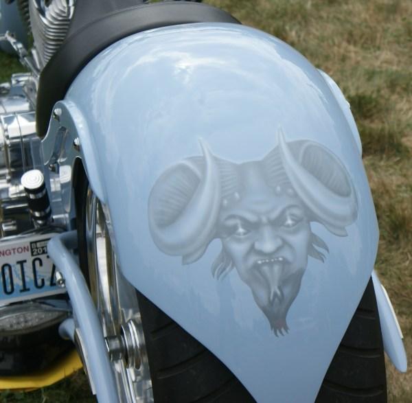 Bike Fender Withairbrush Art Rob Ladely' Amazing Gripper