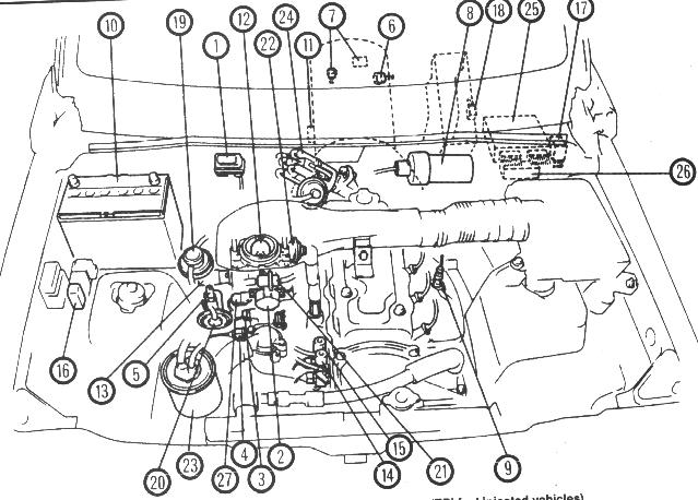 geo tracker engine diagram manifold