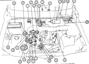 Geo Tracker Engine Compartment Diagram