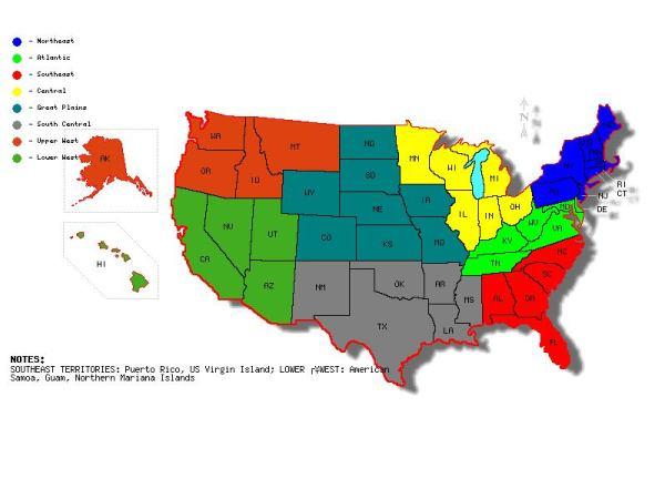 RLC National Region Map
