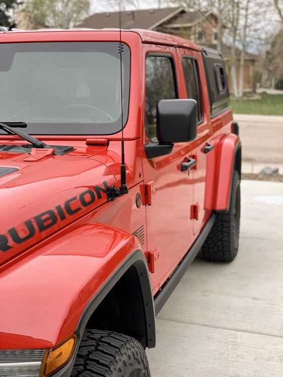 Jeep With Bed : 2020+), Gladiator, Cap/Canopy, Design