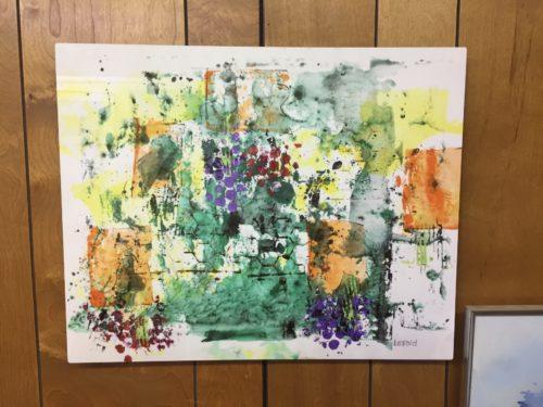 Abstract Metal Print 16 X 20