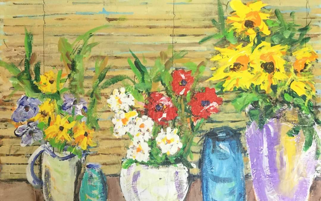 Flowers on Windowsill 1